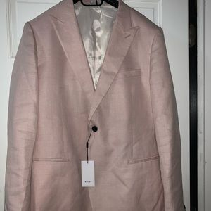 NWT Reiss Pink Men's Melody Blazer NWT 44